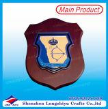 Guyana-dekorative Plaketten-hölzerne Medaillen-Fertigkeit-hölzerne Schild-Plaketten-Metallmedaille