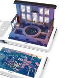 Livre de coloriage Hot vendre les enfants avec la réalité augmentée (AR)