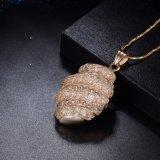 el oro 18K plateó el nuevo conjunto del collar de la joyería de las señoras nupciales de la boda