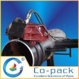 取り外し可能な配水管の切口の斜角ドリルおよび製造所機械