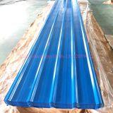 Алюминиевым покрынный цинком гальванизированный Corrugated лист толя