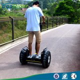 19 Zoll weg Straßen-grosses Rad-elektrischer Ausgleich-Roller2x2000w 72V 633wh vom Chariot-elektrischen Roller
