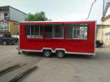 Tranda doppelter Schutz-Nahrungsmittel-LKW Van für den Verkauf der Kuchen und des Biskuites (CER)