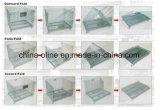 折られた鋼線の網の容器(1000*800*840)