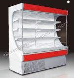 Escaparate del supermercado/refrigerador verticales de la visualización del supermercado