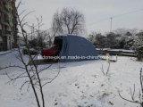 屋外の折る車カバー駐車テントの立場ラック避難所のガレージ