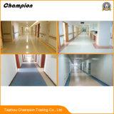 Le plancher d'intérieur/de gymnastique/hôtel/hôpital/bureau PVC, bon plancher de PVC de vente a employé le jardin d'enfants/d'intérieur utilisé par étage en plastique plancher de vinyle