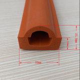 Kundenspezifischer Ofen-Tür-Silikon-Gummi-Dichtungs-Streifen