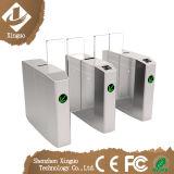 Barrera automática de la solapa de la seguridad de la puerta del torniquete de Silding con la puerta teledirigida