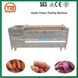 De Wasmachine van de Wasmachine van de aardappel en de Machine van de Schil van de Bataat
