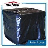 Blue fácil abrir la tapa de palets de PVC con velcro