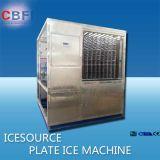 Guangzhou produits aquatiques de la plaque de traitement de la machine à glace