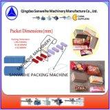 A lo largo de envolver oblea Biscuit de tipo de máquina de embalaje automático