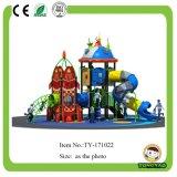 Nouvelle diapositive de la maternelle à l'extérieur de l'équipement de terrain de jeu (TY-70031)