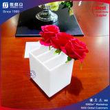 Красивейшая прозрачная черная белая акриловая коробка цветка