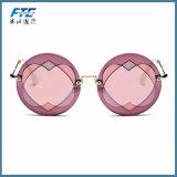 색안경 여자 둥근 프레임 Heart-Shaped 렌즈 상표 디자이너