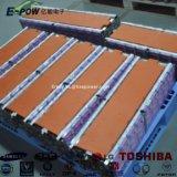 pak van de 3500times3.2V 200ah het Navulbare Batterij LiFePO4 voor Elektrische Auto