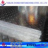 betreedt Aluminium 3003 1060 5052 Plaat in Staaf Vijf Staaf/Drie in de Voorraad van het Aluminium