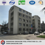 Edificio residenziale prefabbricato pre costruito di tipo europeo della struttura d'acciaio