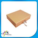 Складная изготовленный на заказ бумажная упаковывая коробка с закрытием тесемки