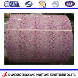 PPGI galvanisé prélaqué/, bobine d'acier de couleur imprimée pour les matériaux de toiture