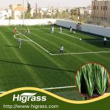 Relvado artificial da fibra da haste do monofilamento do PE para esportes do futebol