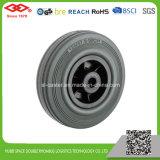 160 мм черная резиновая поворотный блокировки продольного наклона оси поворота колеса (G102-31D160X40S)