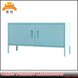 Самомоднейшая живущий конструкция стойки шкафа TV металла мебели комнаты Bas-129