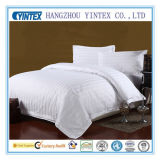 Weißes ägyptische Baumwollhotel-Bett befestigtes Blatt des Körper-100%