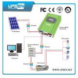 Contrôleur solaire de charge de DC12V/24V/48V MPPT avec des chargements de C.C du réseau local RS232