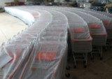 Estilo europeu de zinco 100L Carrinho de Compras de supermercado
