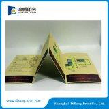 Fornitore dell'opuscolo piegato triplo di stampa