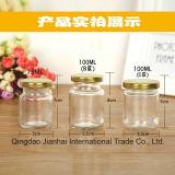 Choc en verre de qualité pour la vente en gros de miel