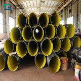 Труба из волнистого листового металла PE стальной полосы усиленная с штуцерами