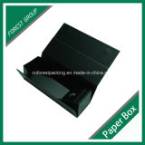 Wine Bottle PackingのためのマットBlack Folding Carton Box