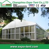 barraca ao ar livre grande do casamento do partido de 20X60m com parede de vidro