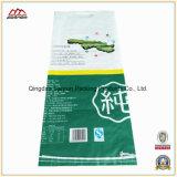 Sac tissé par pp de traitement pour le riz de empaquetage