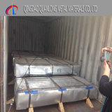 塗られる電流を通される完全で堅い亜鉛シートに屋根を付ける