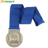 L'impression logo Médaille Polyester longe de sécurité