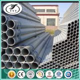 Cuadrado y redondo de hierro galvanizado en caliente del tubo de acero al carbono