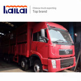 FAW 8*4の棒のトラックCa1313の貨物トラック340HPの貨物自動車のトラック