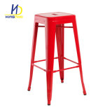 Precio barato antiguos muebles de la barra de bar silla Tolix de heces de la barra de metal de hierro