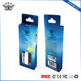 Recargable integrada Calefacción Cerámica 350mAh recargable de cámara de vidrio de aceite de Cdb Vape Pen