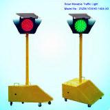Semaforo mobile portatile solare del semaforo/LED