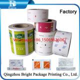Papel recubierto de PE impresas Rollo de papel de embalaje, el azúcar, la película de papel laminado de PE