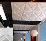 Décoration de style château plus fleur Four-Leaf Colorfull imperméable conçu Light-Weight mur PVC 3D/Panneaux de plafond