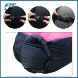 bolso perezoso del saco de dormir inflable portable del poliester 190t