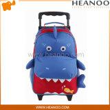 아이를 위한 바퀴를 가진 아이들 학교 회전 트롤리 부대 책가방