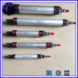 저가 ISO6432 두 배 작동 Airtac 소형 조밀한 압축 공기를 넣은 피스톤 공기 실린더