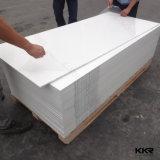 12 mm acrílico de cor branca a superfície sólida de pedra do painel de parede